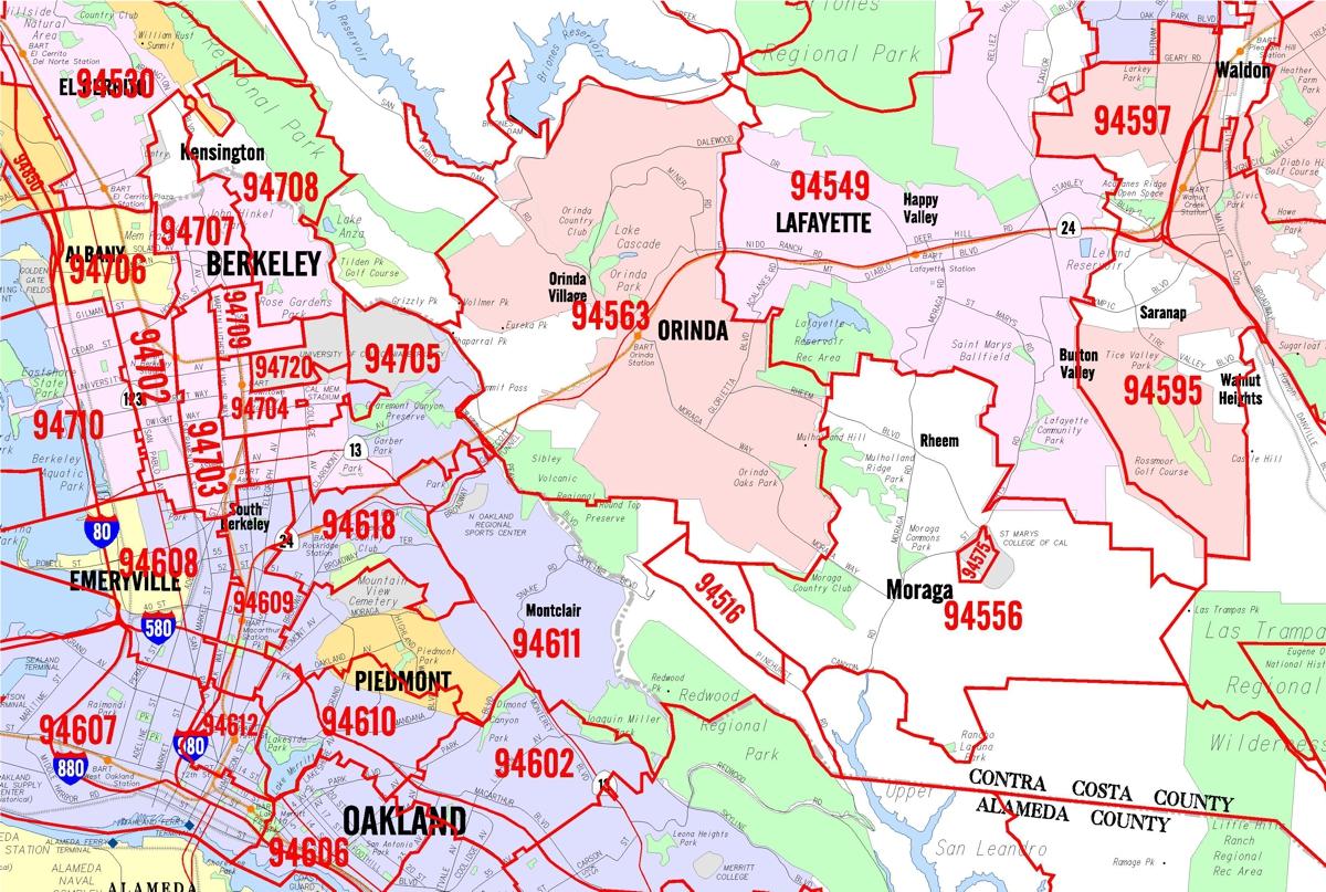 San Francisco Bay Area Maps Kroll Map Company
